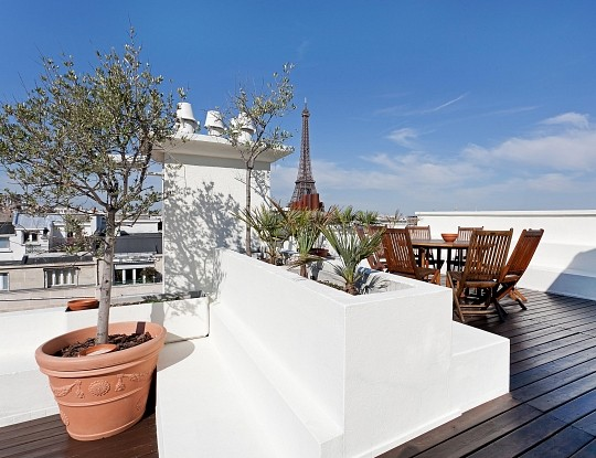 Paris Ouest Sotheby's International Realty triplex Paris