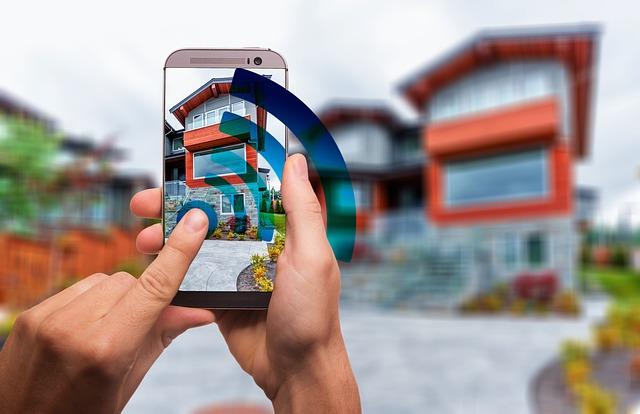 Image d'une maison domotisée pour renforcer l'accessibilité les PMR.