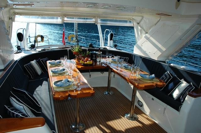 Luxury tailor-made yacht.
