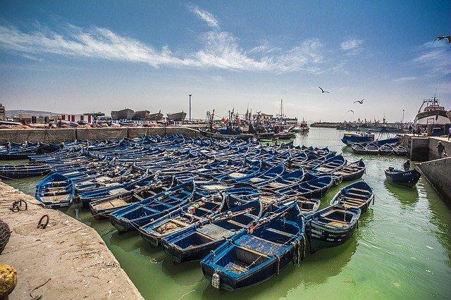 Essaouira's port.
